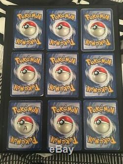 Complete Base Set (Played-Near Mint) 102/102 Pokemon Cards Charizard 4/102