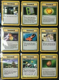 Complete Neo Genesis Non Holo Set /111 Classic Near Mint Pokemon Card Collection