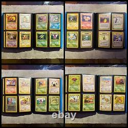 Complete Pokemon Base Set Cards! Part Jungle/Fossil/Team Rocket WOTC Near Mint
