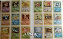 Complete Pokemon Collection Charizard Venusaur Blastoise Near Mint Base 2