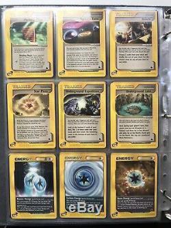 Complete Skyridge Non Holo Pokemon Card Set 144 Cards EReader 2003 Near Mint