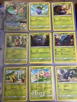Cosmic Eclipse Binder Collection Set (Near Complete) Pokemon Cards TCG