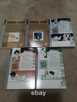 Cowboy Bebop Complete Collection MANGA Near Mint Condition