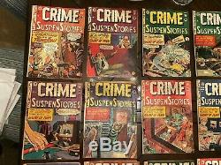 Crime SuspenStories Pre-Code Golden Age EC 10 cent Nearly Complete Set