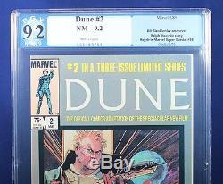 DUNE #1-3 complete limited series PGX 9.2 NM- Near Mint Minus HTF +CGC