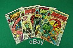 Daredevil 88 Comic Lot #81-157 Near Complete Black Widow Origin Bullseye Marvel