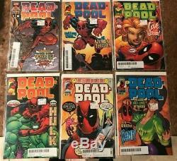Deadpool 1 Thru 63 Near Complete Run Most Nm 9.4 Or Better Xmen 98 New Mutants