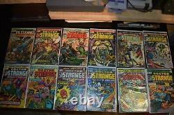 Dr Strange #1-74 Near Complete 69 Marvel Comics Set 1974 Dracula Avengers Doctor