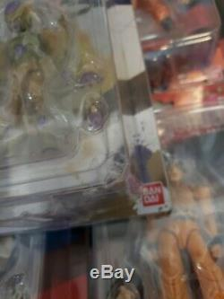 Dragon Ball Z Shodo Figures Near Complete Lot VHTF (Discontinued)