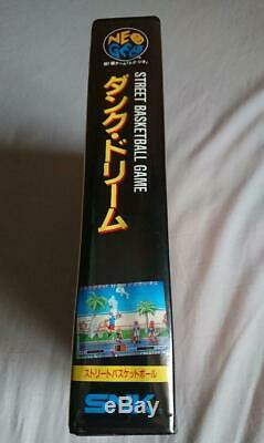 Dunk Dream Neo Geo AES Japan COMPLETE NEAR MINT FOR COLLECTION