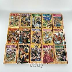 Fairy Tail Near Complete Set Manga Comic Book Lot Vol 1-30 English Hiro Mashima