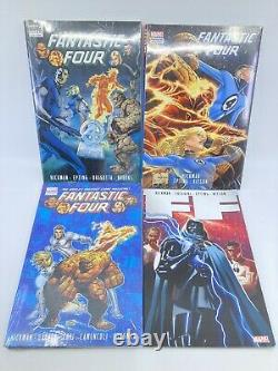 Fantastic Four FF Jonathan Hickman Near Complete TPB / Hardcover Collection Lot