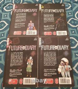 Future Diary Mirai Nikki English Manga Volumes NEAR COMPLETE SET LOT FIRST PRINT