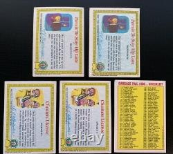 Garbage Pail Kids 1985 Series 1 Lot Near Complete Set 100 Cards! (Evil Eddie x2)
