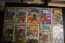 Ghost Rider #2-81 Marvel Near Complete Set Missing #1 + More 1973 1st Hellstrom