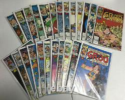 Groo The Wanderer Nearly Complete Series List 1-120 Mini Series Marvel Image DH