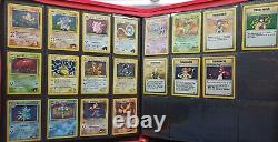 Gym Heroes Complete 132 Card Set Near Mint Pokemon WOTC Moltres, Gengar