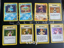 Gym Heroes WOTC 100% Complete Set Pokemon Cards MINT/NEAR MINT SABRINAS GENGAR