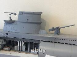 Hachette Build U boat submarine Complete worth £800 collect only nearly made u96