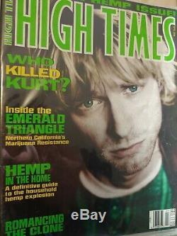 High Times Magazine Near Complete Collection in binders, 480 Issues