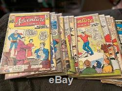 Huge Adventure Comics, Silver Age Lot of 90, Near Complete Run, Issue #s 292-408