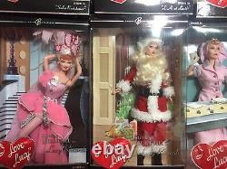I Love Lucy Barbie Collection, Nearly Complete NVRB