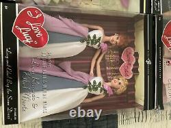 I Love Lucy Barbie Dolls Near Complete Collection Lot Of 19 Dolls Nrfb