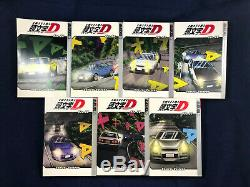 Initial D Manga Volume 1-31 Near Complete English OOP 7 Ltd Edition Cards & Map