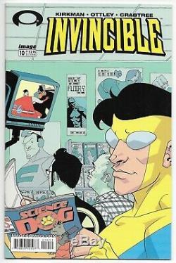 Invincible #0 #1 Cgc 9.2 #2 3 4 5 6 7 8-144 Nm 1-144 Kirkman Near Complete Lot