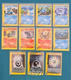 Japanese Pokemon Near Complete VS Set 1st Edition 103 of 141 & Energy Cards