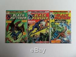 Jungle Action (1972) 1-24 Near Complete Series, lot of 19 Black Panther FN/VF