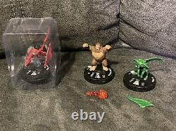 Large Heroclix Yu-Gi-Oh! Collection. Nearly Complete, Slifer, Maps & More