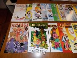 Liberty Meadows #1 (near complete lot!) 1-37 (missing 4 issues) Adam Hughes, CHO