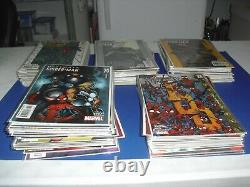 Lot 103 Ultimate Spider-Man near complete set 8-114 (missing issues) most VF