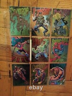 Marvel Cards HUGE Lot 1000+ cards! 1990-1995. X-Men. Complete/near complete sets