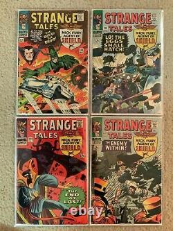 Marvel Comics Silver Age Strange Tales Lot Near Complete 47 Comics 112- 187 G/VG