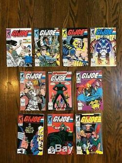 Marvel G. I. Joe Comic Lot 1-115 Plus Spin-Offs 151 Books Total NEAR COMPLETE