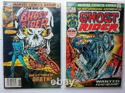 Marvel Ghost Rider 1-81 near complete, with ++