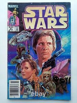 Marvel Star Wars 8,42,68,81,107 near complete 1977 series 1-107 +annuals