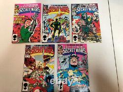 Marvel Super-Heroes Secret Wars 1984 #1-7 9-12 (FN-/VF-) Near Complete Set NO #8