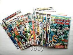 Marvel Super Villain Team-up 1-16 NEAR complete