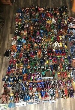 Mattel DC UNIVERSE CLASSICS 214 Figure Lot Near Complete Collection RARE