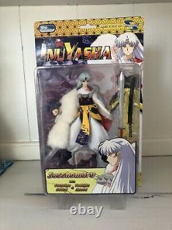 NEAR MINT 2004 Toynami InuYasha Sesshomaru Figure COMPLETE IN BOX RARE