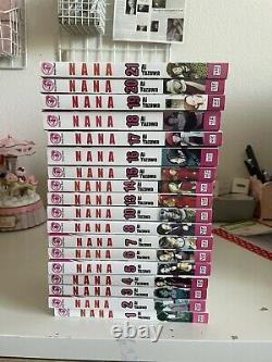 Nana Manga ENGLISH Lot Nearly Complete 1-8,10,13-21 (18 Books)