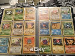 Near Complete Base Set 2 129/130 Mint/Near Mint Pokemon Cards Set Vintage