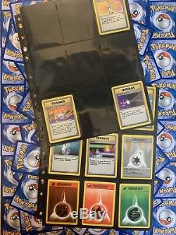 Near Complete Base Set Excellent To Great Condition Pokemon Cards Charizard Holo