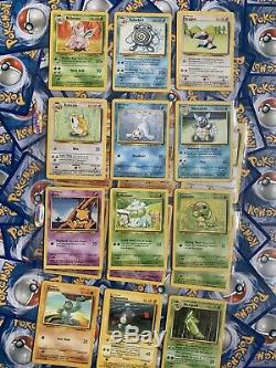 Near Complete Base Set Missing 5 Near Mint To Played Condition Charizard