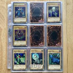 Near Complete Legend of Blue Eyes White Dragon Set LOB-E (77 Cards) 2002 YuGiOh