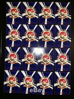 Near Complete Pokemon Team Rocket Set Japanese 64/65
