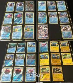 Near Complete Sun & Moon Master Set Pokemon Cards GX Holo Full Art